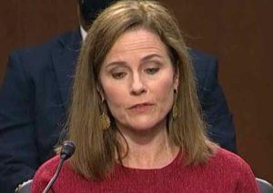 Justice Amy Coney Barrett. Internet video screenshot