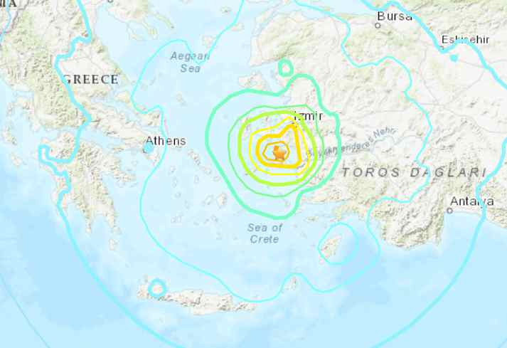 Powerful Quake in Aegean Sea Leaves 6 Dead; Buildings Toppled in Turkey, Greece