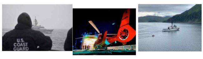 Coast Guard Cutter Alex Haley. ISCG courtesy photos
