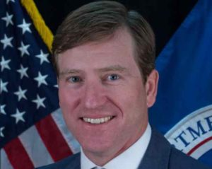 Former director of the Cyber Security and Infrastructure Security Agency, Christopher Krebs. Image-United States Department of Homeland Security