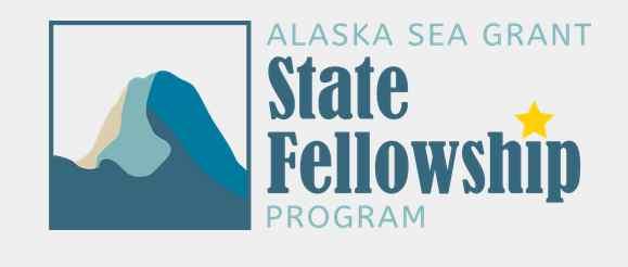 Alaska Sea Grant State Fellowship application now open