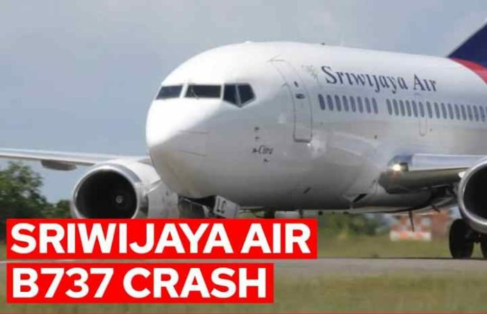 Indonesian Authorities Locate Black Boxes from Sriwijaya Air Passenger Plane