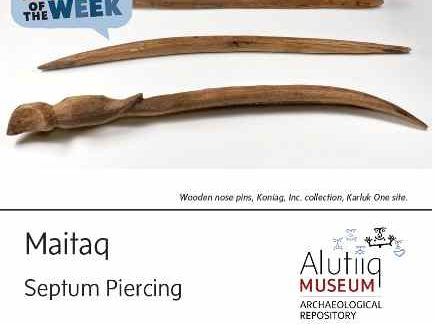 Septum Piercing-Alutiiq Word of the Week-January 18th