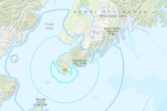 South Kenai Peninsula Quake Generates No Damage, No Tsunami
