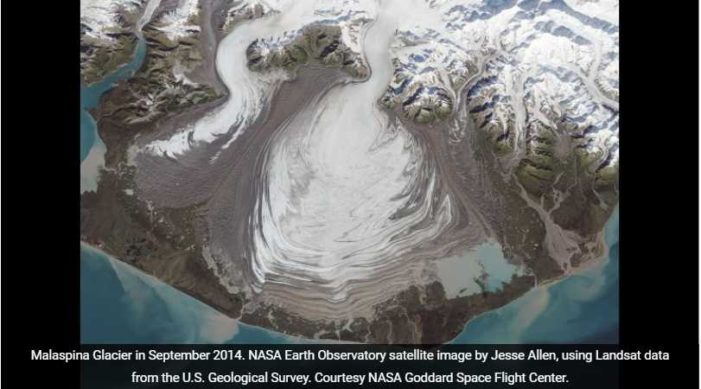 Malaspina Glacier Gets Up and Goes
