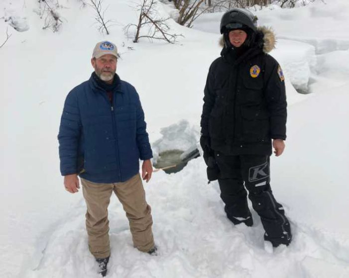 Eight-Year-Old Plucked from Skwentna River by Wildlife Trooper and Iditarod Volunteer