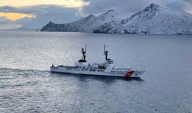 Coast Guard Cutter Douglas Munro Returns Home from Final Patrol
