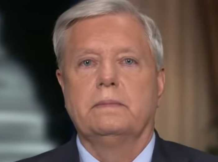 Lindsey Graham Says He Would Talk Until He 'Fell Over' to Stop Voting Rights Bill