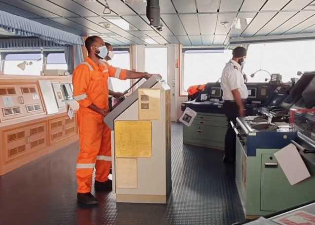 Pandemic Strands 100,000 Merchant Mariners at Sea