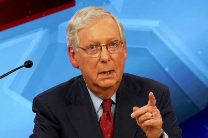 After Decades of Raking in Corporate Cash, McConnell Tells CEOs Mildly Defending Voting Rights to 'Stay Out of Politics'