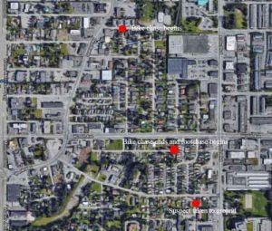 Location of Imlach bike/footchase. Image-Google Maps