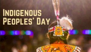 """""""This Indigenous Peoples' Day Resolution is an opportunity to honor the true nature of our founding and re-focus a federal holiday on the incredible cultural contributions of Native peoples that have been absent from our celebrations until now,"""" said Rep. Norma Torres. (Image: via Rep. Ray Lugjan/ @repbenraylujan)"""