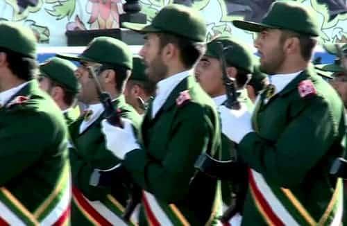 Iran's Revolutionary Guards. Image-VOA
