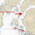 Katlian Bay area. Image-NOAA charts