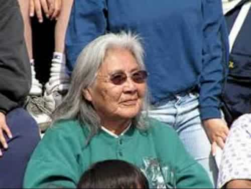 Athabascan elder and subsistence rights activist Katie John. Image-National Parks Service