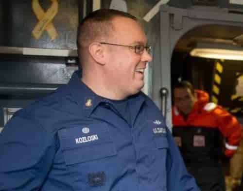 Chief Warrant Officer Michael Kozloski. Image-USCG