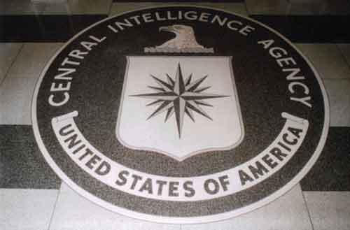 CIA seal.