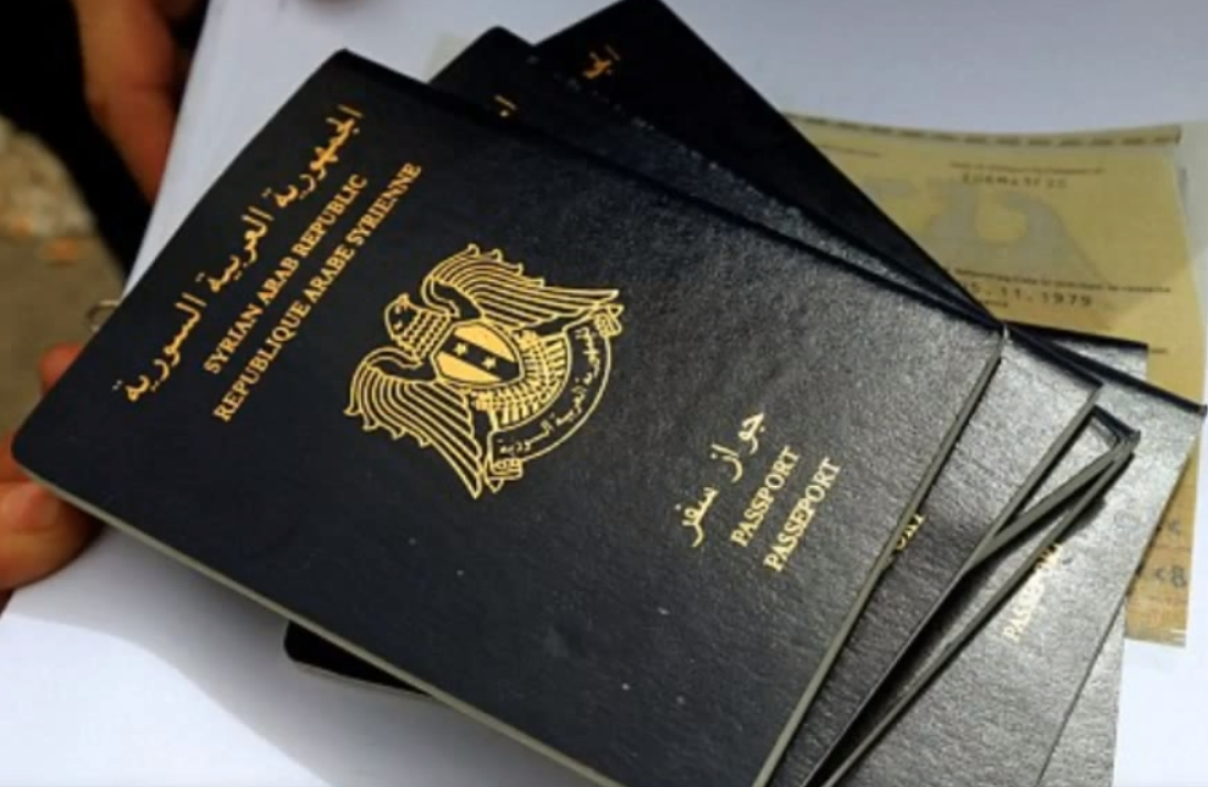 Syrian Passports. Image-YouTube screengrab