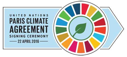 Paris Climate Agreement Logo