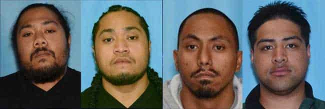 All Four Suspects in August 2017 Attempted Murder/Kidnapping Case in Custody