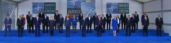 Members of the North Atlantic Treaty Organization meeting in Brussels, Belgium. Image-VOA
