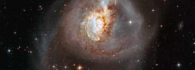 NGC-3256. Image-NASA/ESA