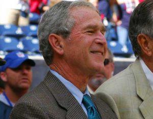 43rd U.S. President, George W Bush. U.S. Navy photo by Mass Communication Specialist 1st Class Jason Winn