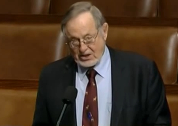 Representative Don Young speaking on the NAHASDA Bill in the House of Representatives.
