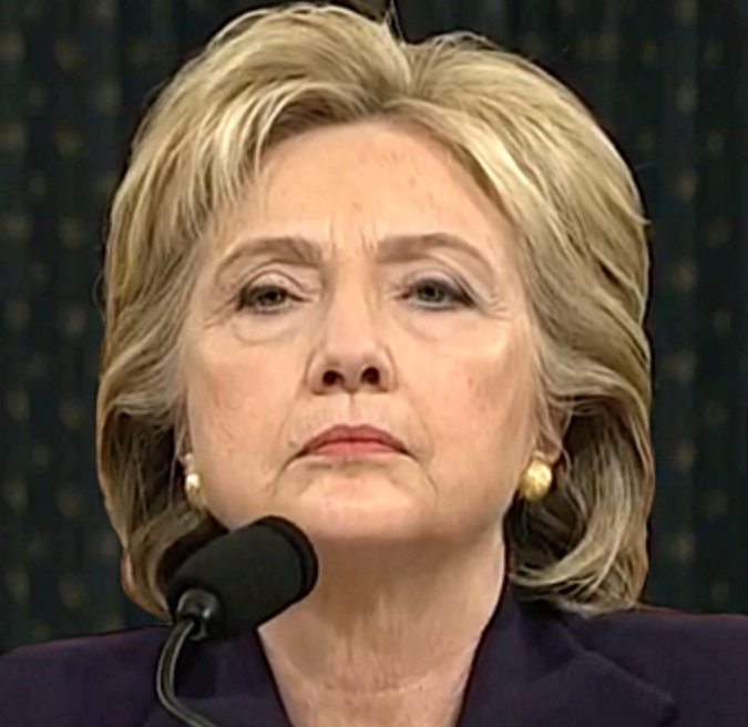 Hillary Clinton testifying to the House Select Committee on Benghazi. Image-Public Domain