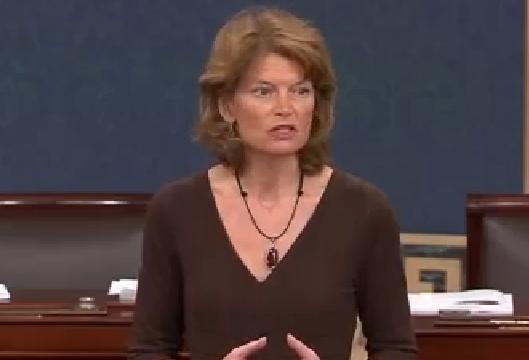 Senator Murkowski on the Senate floor
