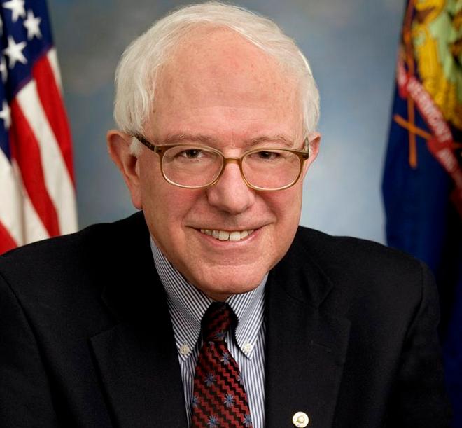 Democratic Presidential candidate and U.S. Senator, Bernie Sanders. Image-U.S. Congress