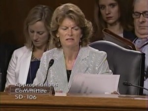 Senator Murkowski questioning cabinet members about crisis on U.S./Mexico border