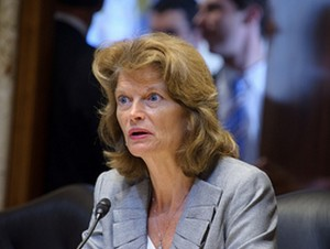 Sen. Murkowski at Energy and Natural Resources Committee. Image-Office of Senator Murkowski