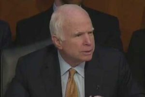 Arizona Senator, John McCain.