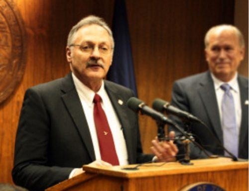 Representative Dave Talerico and Alaska Governor Walker. Image-State of Alaska
