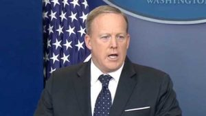 White House press secretary Sean Spicer resigns and Anthony Scarramucci is brought in as communications director. Image-White House