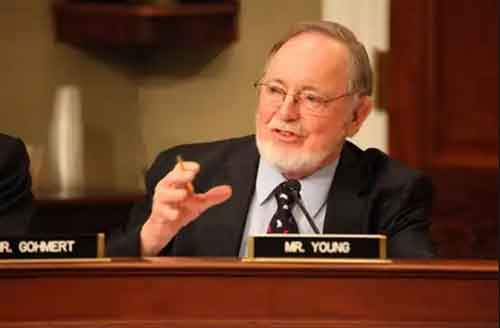 Representative Don Young. Image-house.gov