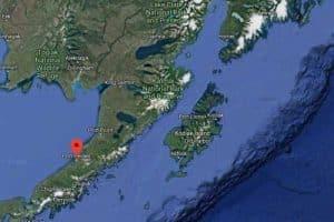 Location of Port Heiden on the Alaska Peninsula. Image-Google Maps