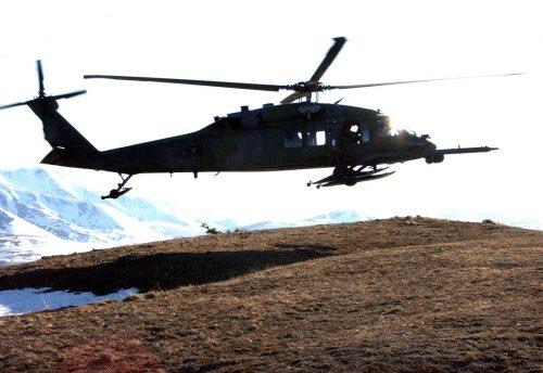 A 210th Rescue Squadron Pavehawk from Alaska Air National Guard. Image-Alaska Air National Guard