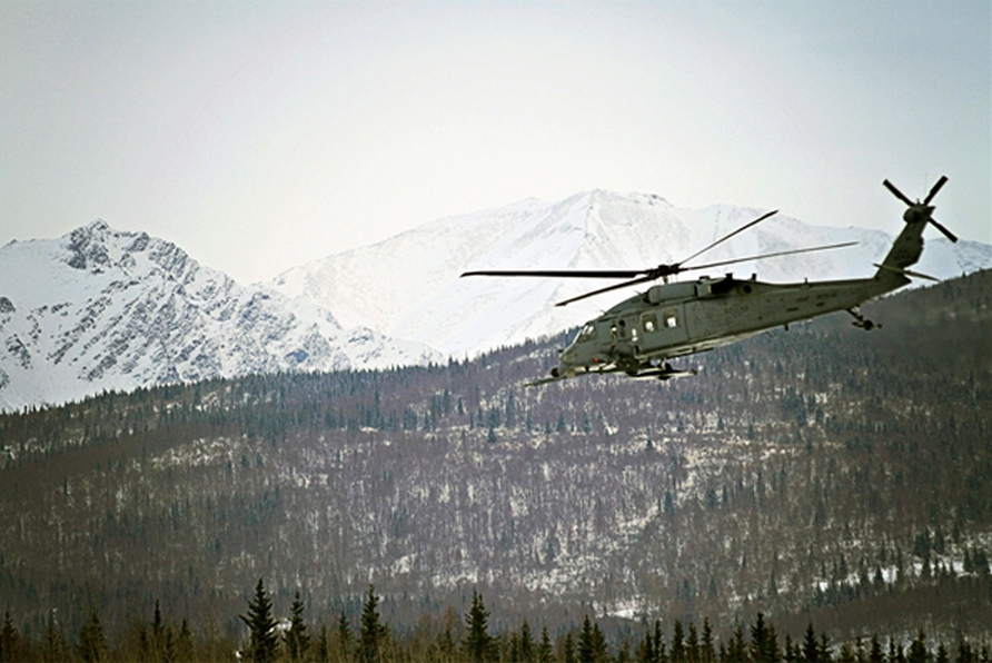 Alaska Air Guardsmen Rescue Man in Gates of the Arctic National Park