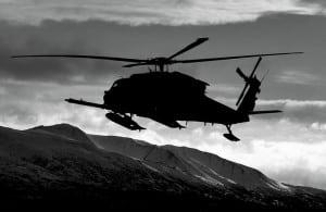 Alaska Air National Guard HH-60G Pave Hawk helicopter. Image-Alaska National Guard