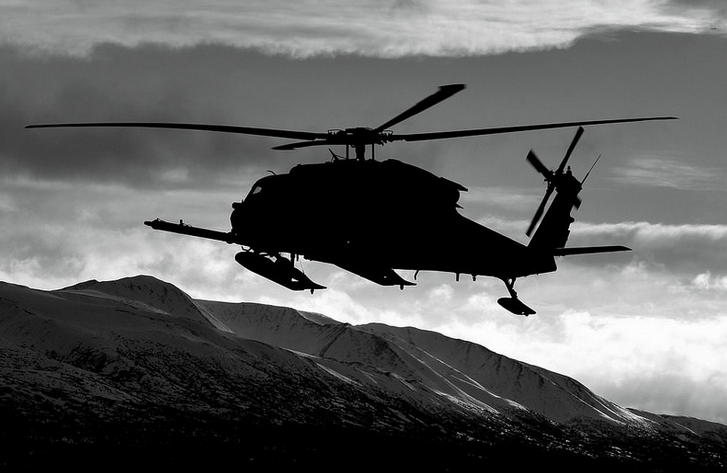 Alaska Air National Guard HH-60G Pave Hawk helicopter. Image-Alaska National Guard