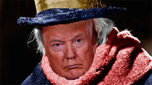 'Not Mere Misers, But Actively Cruel': Trump's GOP Denounced as Worse Than Scrooge on Christmas Eve