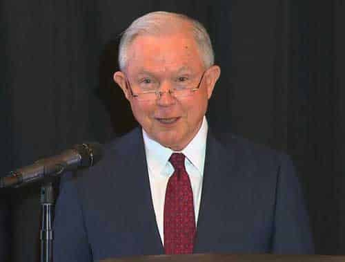 Attorney General Jeff Sessions gleefully quotes Romans 13:1-7, the same passage used by Nazi sympathizers and apartheid-enforcers, slave owners and loyalists opposed to the American Revolution to defend Trump administration's immigration policy.