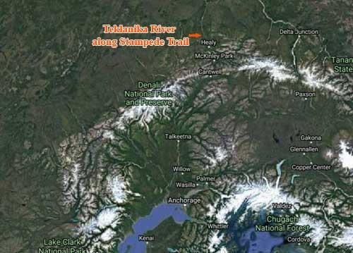Stampede Trail Hiker Loses Life Crossing Teklanika River