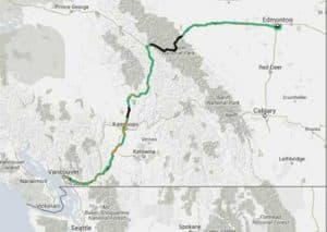 Trans-mountain pipeline. Image-Kinder Morgan