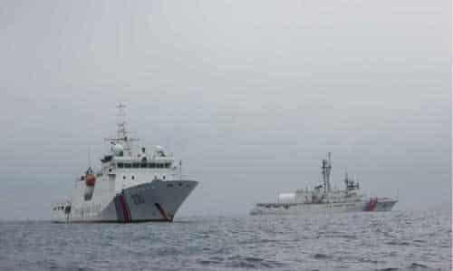 Coast Guard Detains Fishing Vessel Run Da, Seizes 80 Tons of Salmon