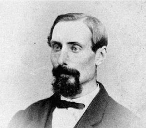 Frederick Whymper, in a photo taken by San Fransisco photographers Bradley and Rolofson. Copyright expired.
