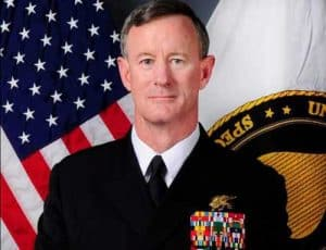 """Admiral William H. """"Bill"""" McRaven, USN, 9th Commander, U.S. Special Operations Command (ret). Image-United States Navy/Public Domain"""